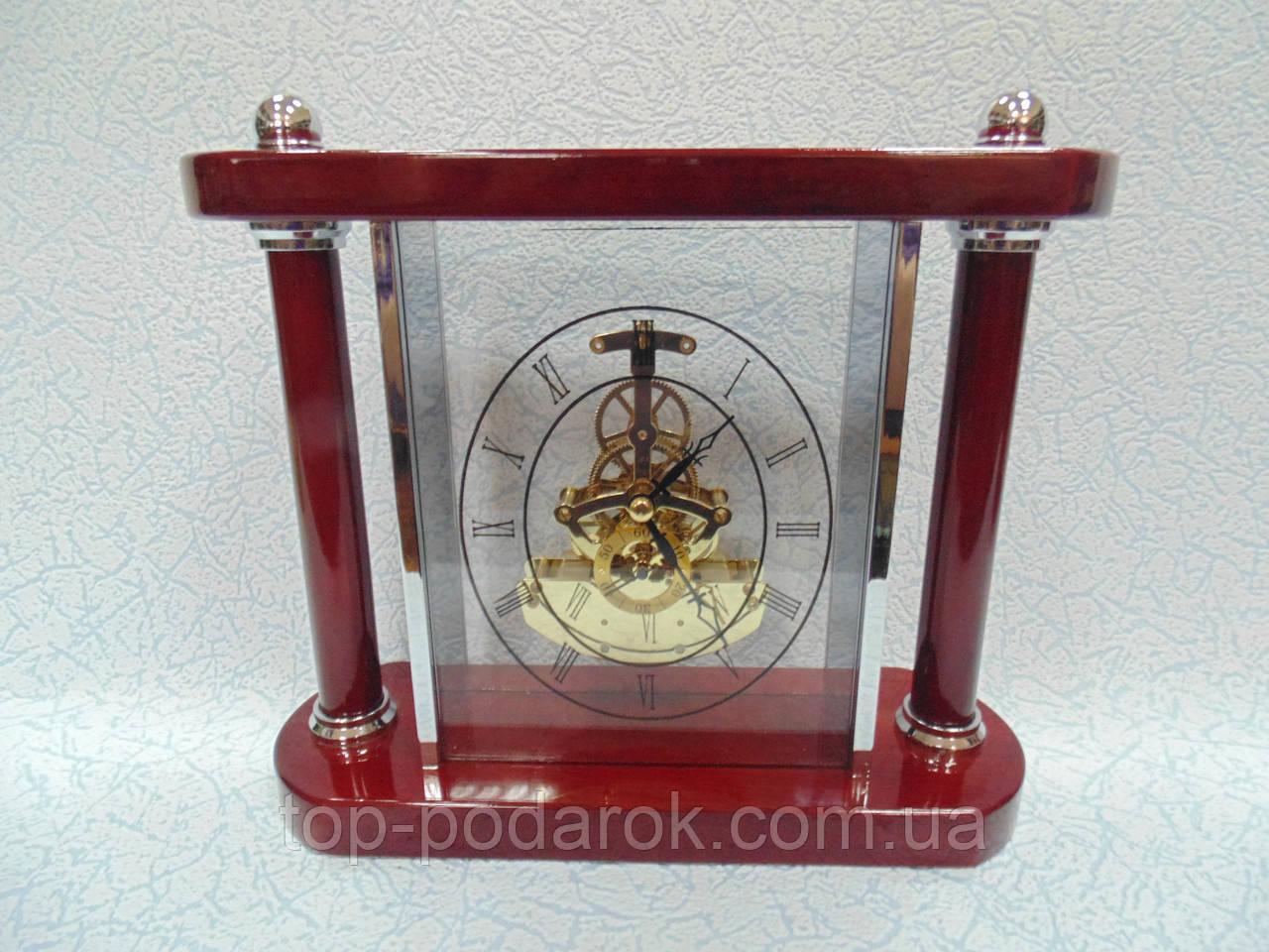 Настольные деревянные часы размер 25*22*9, фото 1