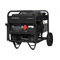 Бензиновый трехфазный генератор Hyundai HY 12000LE-3. Бесплатная доставка по Украине!
