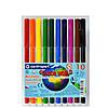 Фломастеры Centropen 10 цветов Colour World