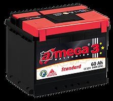 Аккумулятор Daewoo Lanos Sens (Део Ланос Сенс) a-mega (Амега) 60 Ач
