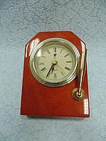 Настольные часы деревянные размер 13*9