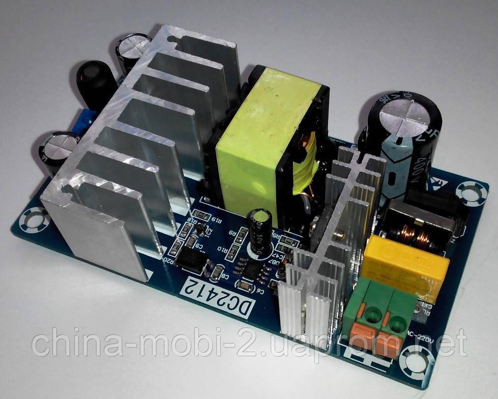Импульсный блок питания AC-DC 220V-24V 6A WX-DC2412