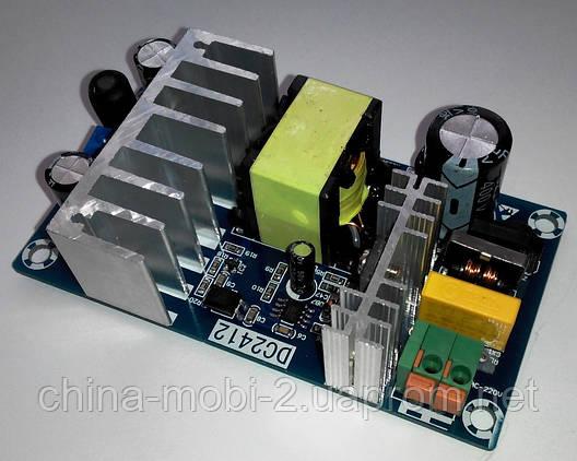 Импульсный блок питания AC-DC 220V-24V 6A WX-DC2412, фото 2