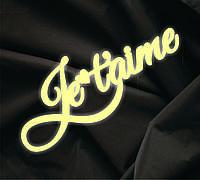 Объемная надпись Je Taime