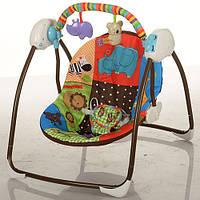 Кресло-качели музыкальные M 3244 Bambi