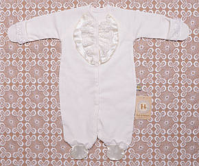 . Человечки для новорожденных в Украине. Теплый для девочки на выписку,в наличии 56,62рост, фото 2