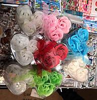 Мыльные цветы - розы, двойная упаковка