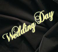 Объемная надпись Wedding Day