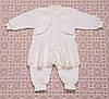 Наборы для крещения девочки Украине.Код1456беж. Теплый комбинезон хлопковый,в наличии _68_74рост