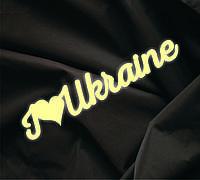 Объемная надпись Я люблю Украину