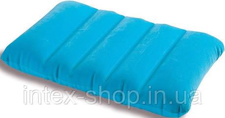 Intex 68676B (Голубая) Надувная подушка 3 вида , фото 2