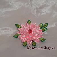 Маленький цветочек украшение для волос (основа на выбор)