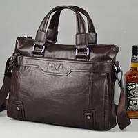 Мужская кожаная сумка для ноутбука. Модель 426