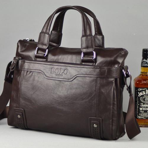 Мужская кожаная сумка для ноутбука. Модель 426 - Интернет-магазин