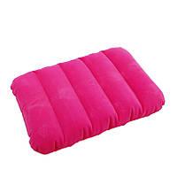 Intex 68676P (Розовая) Надувная подушка 3 вида
