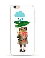 Силиконовый чехол с картинкой для Iphone 6/6s