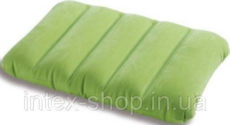 Intex 68676G (Зелёная) Надувная подушка 3 вида , фото 2