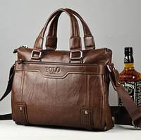 Мужская кожаная сумка Polo. Модель 426, фото 1