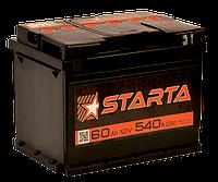 Аккумулятор Daewoo Lanos Sens (Део Ланос Сенс) STARTA (Старта) 60 Ач