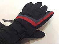 Перчатки горнолыжные мужские PUISSANT р.L черные/красные