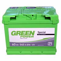 Аккумулятор Green Power (Грин павер) 60 Ач