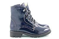 Синие зимние ботинки 2510-05с