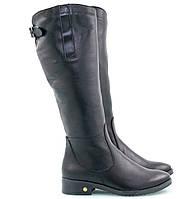 Женские черные сапожки 2510-06з