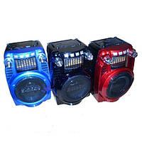 Радиоприемник аудиосистема GOLON RX-X5 портативный стильный бумбокс