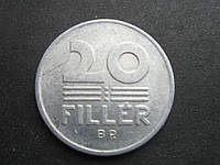 Монета 20 филлеров Венгрия 1989