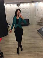 Женское платье Ирэн с эффектом пиджака