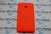 Задняя панель корпуса для мобильного телефона Nokia Lumia 640 XL красная