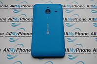 Задняя панель корпуса для мобильного телефона Nokia Lumia 640 XL синяя