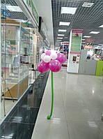 Гелиевый цветок. Цветы из шаров.