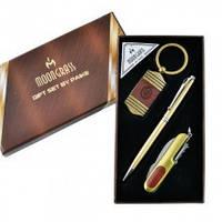 Подарочный набор Moongrass A2 Ручка, брелок, нож