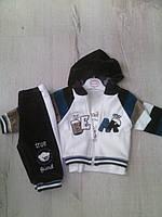 Детский велюровый спортивный костюм для мальчика 6303 Турция