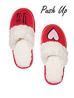 Домашние тапочки The Embroidered Cozy Slipper Victoria's Secret