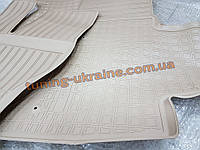 Коврики в салон полиуретановые NOVLINE 5шт. для Cadillac Escalade 3 2005-2014 бежевые