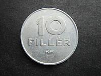 Монета 10 филлеров Венгрия 1988 фауна птица