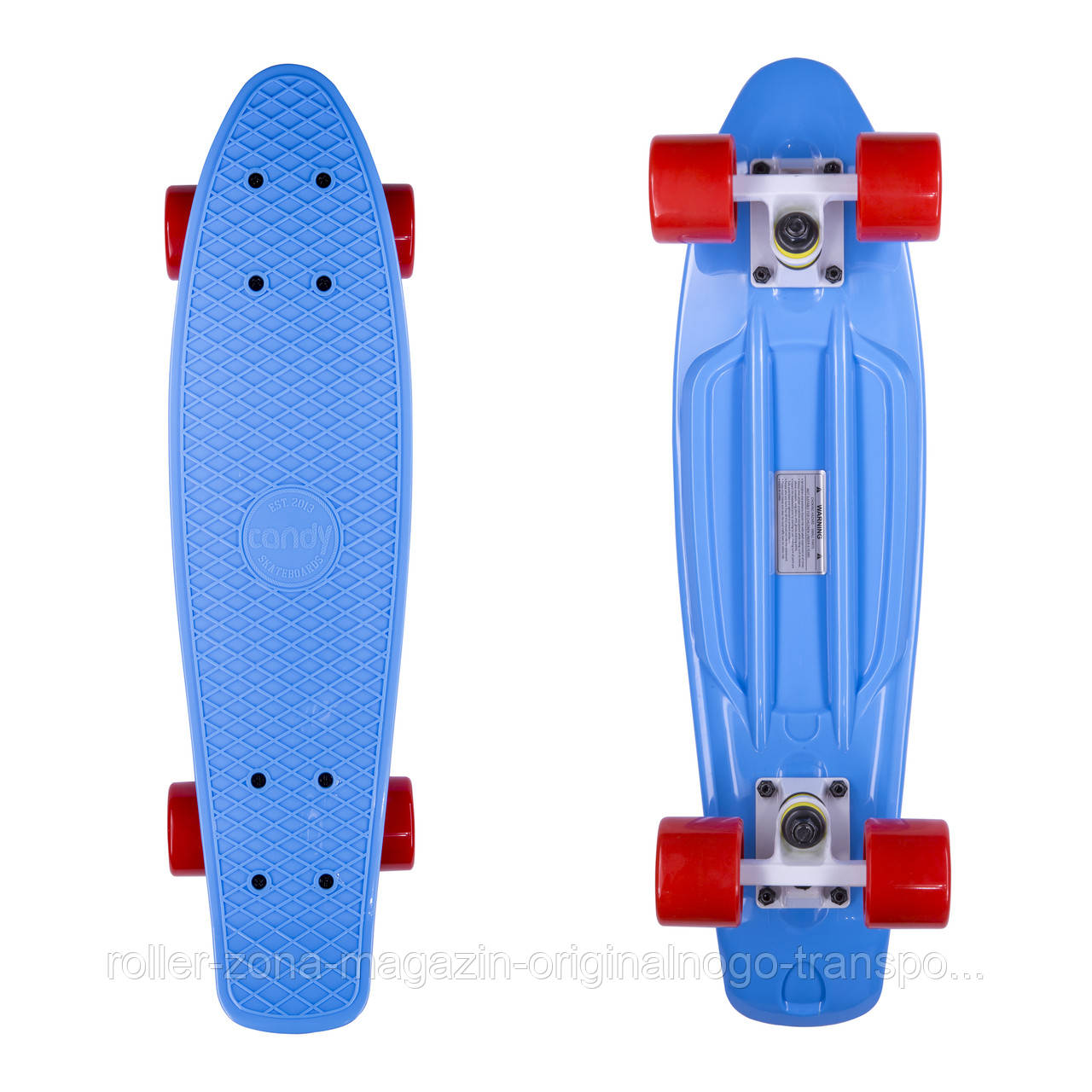 "Penny Board Candy 22"" Blue/Red"