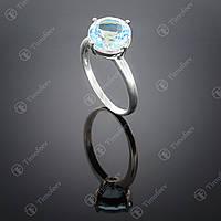 Серебряное кольцо с топазом. Артикул П-137