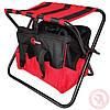 Складной стул с сумкой, универсальный до 90 кг 420 мм x 310 мм x 360 мм