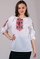 Женская сорочка вышиванка  вышитая натуральной шерстяной ниткой