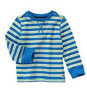 Термо кофта Crazy8 для мальчика голубая полоска
