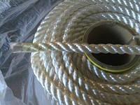 Канат полиамидный (капроновый) 30 мм -100 метров