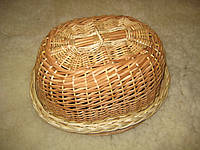 Хлебница из лозы ручной работы