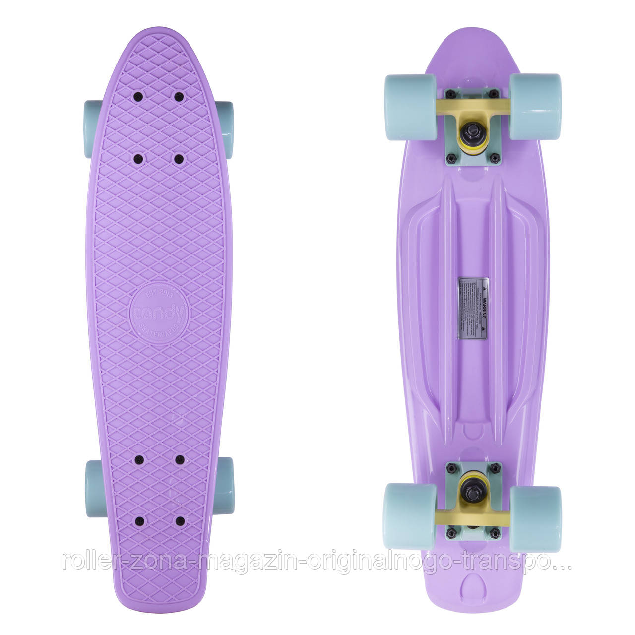 "Penny Board Candy 22"" Pastel Lilac"