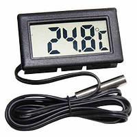 Термометр цифровой с выносным датчиком WSD10 (белый, черный)