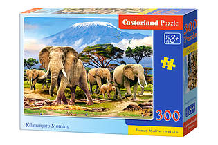 "Пазлы 300 ""Килиманджаро утром"""