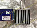 Радиатор отопителя печки Ланос Сенс Lanos Sens алюминиевый Shin Kum 96731949, фото 2