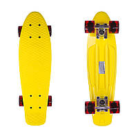 "Penny Board Candy 22"" Yellow/Tr.Red"